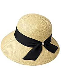 XW cappelli estate Cappello estivo da donna Cappello da spiaggia Cappello da  spiaggia Cappello a tesa a99ba1fb3dc4