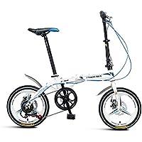 XQ- Z160 Faltbares Fahrrad Unterschiedliche Geschwindigkeit 16 Zoll Erwachsene Tragbares Fahrrad