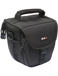 Gem–Bolsa para cámaras de fotos Panasonic Lumix DMC-FZ300dmc-fz330DMC-G7DMC-GX8–Funda impermeable incluido