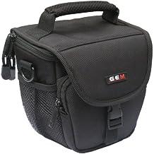 Gem Compact facile accesso custodia per fotocamera Canon EOS M50, Kiss m–Copertura per la pioggia inclusa