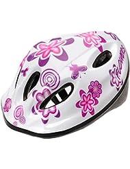Bebé Kids–Ciclo seguridad casco, pequeño tamaño, color Flower MV5-2, tamaño 48-52 cm