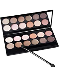 ROPALIA 12 Colors/Set Nude Smoky Eye Shadow Palettes Bare Earth Colors Eyeshadow