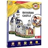 Build-Your-Own - Kit de construcción 3D, diseño de castillo de Baviera