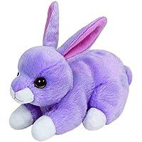 carletto TY 41702–Lilac Beanie Babies, conejo Pascua Edición Limitada, 15cm, púrpura