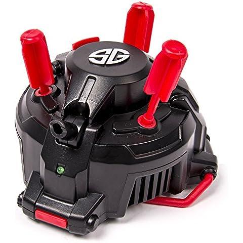 Spy Gear - Lanzador de dardos con sensor de movimiento, versión en inglés, para 6+ años (Spin Master 6022382)