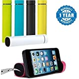 Captcha 3 In 1 Powerjam - Powerbank ( 4000Mah ) Aux Speakers & Mobile Stand ( Assorted Colour ) (One Year Warranty, Color May Vary)
