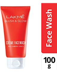 Lakmé Strawberry Creme Face Wash, 100g