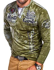 MT Styles 2in1 T-shirt à manches longues P-MONCARLO homme R-0860
