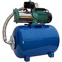 Bomba de agua 1500 vatios 95l/min 24 l recipiente a presión bomba de agua