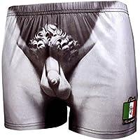 Calzoncillos boxer Michelangelo la mirada del escultor - otras telas
