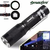LCLrute Hohe Qualit/ät Q5 AA//14500 3Mode ZOOM LED Super Helle Taschenlampe MINI Polizei Taschenlampe