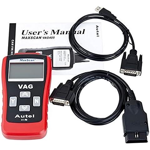 metebu (TM) nuovo auto scanner Can Scan Tool VAG 405, OBD2OBDII EOBD auto strumento diagnostico Autel Lettore di codice per VW/Audi Hot vendita