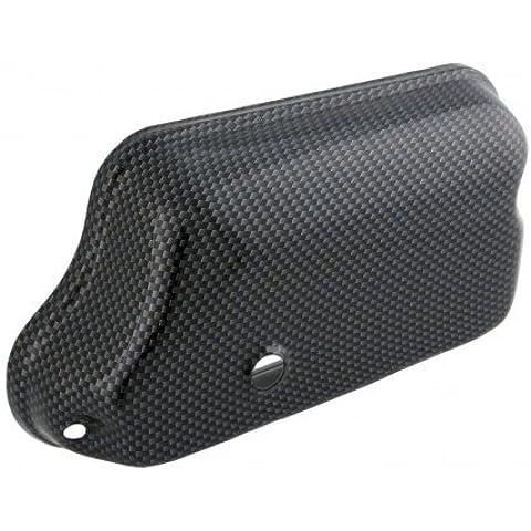 Carburatore coperchio vasca senza lubrificazione separatamente SIP in metallo, Carbon Look