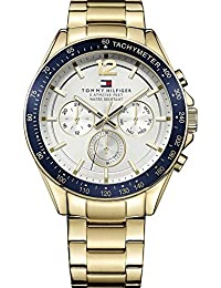 Tommy Hilfiger Luke Mens Gold Ion-plated Day & Date 24 Hour Watch 1791121