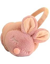 Pink Cute Animal Style Bouchon d'oreille en peluche