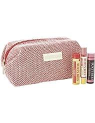 Burt's Bees Lippenpflege-Set, 1er Pack (1 x 3 Stück), Gratis beim Kauf von ausgewählten Burt's-Bees-Produkten im Wert von mindestens 20 EUR