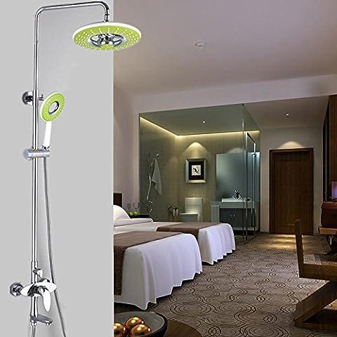 YanCui@ Rubinetti per doccia Contemporanea cromo rame placcatura doccia set rubinetto doccia