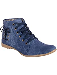AAIKEN Fashion Blue Stylish Men's Casual Shoes