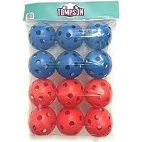 Tompson plástico balones–12unidades