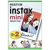 Fujifilm Instax Mini Film Pellicola istantanea per fotocamere Instax Mini, Formato 46x62 mm, confezione da 20 foto