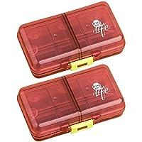 Roter Reise-tragbarer Ausrüstungs-Zufuhr-Kasten-tragbarer Medizin-Kasten-Satz von 2 preisvergleich bei billige-tabletten.eu