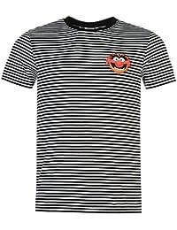 Muppets - T-shirt - Homme multicolore noir/blanc