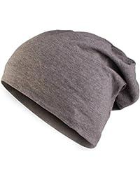 Masterdis Jersey Beanie, Farbe:heather charcoal