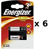ENERGIZER 6 x Energizer - 628287 - Lithium Photo 2CR5 - 6 V