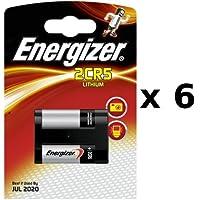 ENERGIZER 6 x Energizer - 628287 - Lithium Photo 2CR5 - 6 V