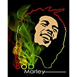 Printelligent Posters Bob Marley Poster Bob Marley Posters For Room Posters Of Bob Marley Bob Marley Quotes Decorative Poster With Size Of News Paper Size 14 Inch X 26 Inch And Great Designs High Quality Matte Finish 32 Micron Lamination Thick 300 Gsm Imp