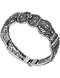 Jaipur Mart Kadaa for Women (Silver)(GSB13SLV)