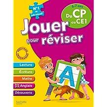 Jouer pour réviser - Du CP au CE1 6-7 ans - Cahier de vacances