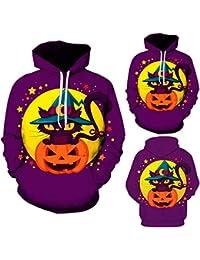 BUSIM Men's Long Sleeve Sweater Fall/Winter Halloween Pumpkin Casual Slim Hoodie Sweatshirt Entertainment Activity...