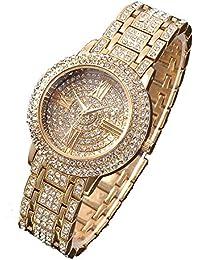Lederarmband damen zum wickeln mit strass  Suchergebnis auf Amazon.de für: damenuhren strass: Uhren