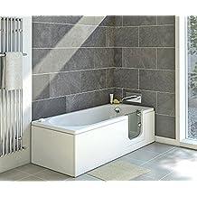 suchergebnis auf f r badewanne mit t r. Black Bedroom Furniture Sets. Home Design Ideas