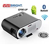 Vivibright GP90UP Android4.4 & WiFi Portable Projector LED LCD 3200 Lumens 1280*800 Support 1080P