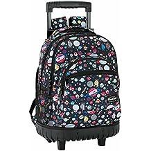 Safta 641740818 Blackfit8 Mochila escolar, 45 cm, Multicolor