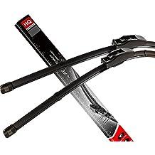 Juego de escobillas limpiaparabrisas delanteras sin marco, planas, HQ Automotive – AD81-121