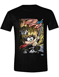 Southpark The Fractured But Whole - Distressed Poster T-shirt noir
