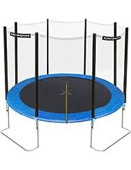 Ultrasport Gartentrampolin Jumper inklusive Sicherheitsnetz