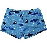 SOL Y PLAYA-Bañador Tiburón para niño Bañador Niños Boxer en Slips de natación Traje de Baño (Shark Shark) Animales Mono ( Mo
