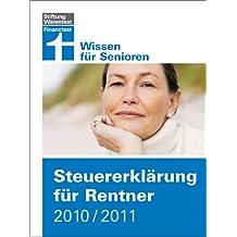 Steuererklärung für Rentner 2010/2011