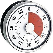 TFA 38.1028.10 - Cuentaminutos circular, color negro