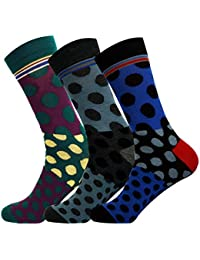 Jasmine Silk 3 Pairs Supersoft Mens Bamboo Socks Thermal Sock 7-11 Stripe