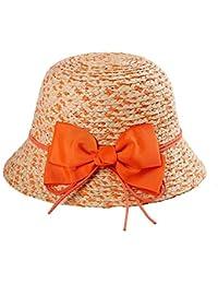 Fuxitoggo Sombrero de Sol Sombrero de Paja Sombrero de Paja Sombrero de  Playa Moda Mujer Señoras 634a944eda3