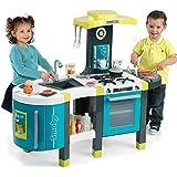 Smoby French Touch kitchen - juguetes de rol para niños (3 Año(s), Femenino, Gris, Azul, Color blanco, 115 cm, 41 cm, 97 cm)