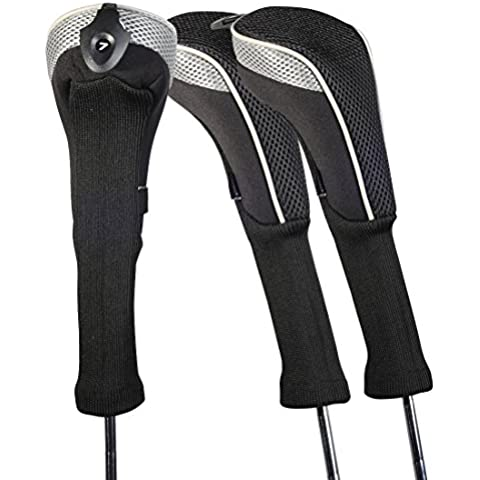 Andux coprimazza da golf per ibridi 3pcs/set