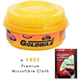 Carnauba Wax Polish for Car, Bike, 230 Gm + Free 1 Microfibre Cleaning Cloth