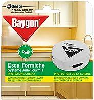Baygon Esca Insetticida Formiche Pronta all'Uso, Protezione Cucina 30 g - Confezione da 1 Esca per Uso in