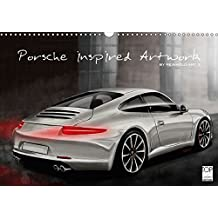 Porsche inspired Artwork by Reinhold Art´s (Wandkalender 2018 DIN A3 quer): In Digital-Painting interpretierte Porsche Fahrzeuge als Kalender ... [Dec 04, 2015] Autodisegno, Reinhold
